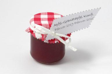 Apfel-Granatapfelkonfitüre