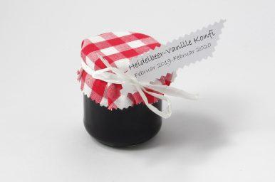 Heidelbeer-Vanillekonfitüre