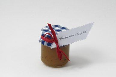 Birnen-Kiwi-Konfitüre