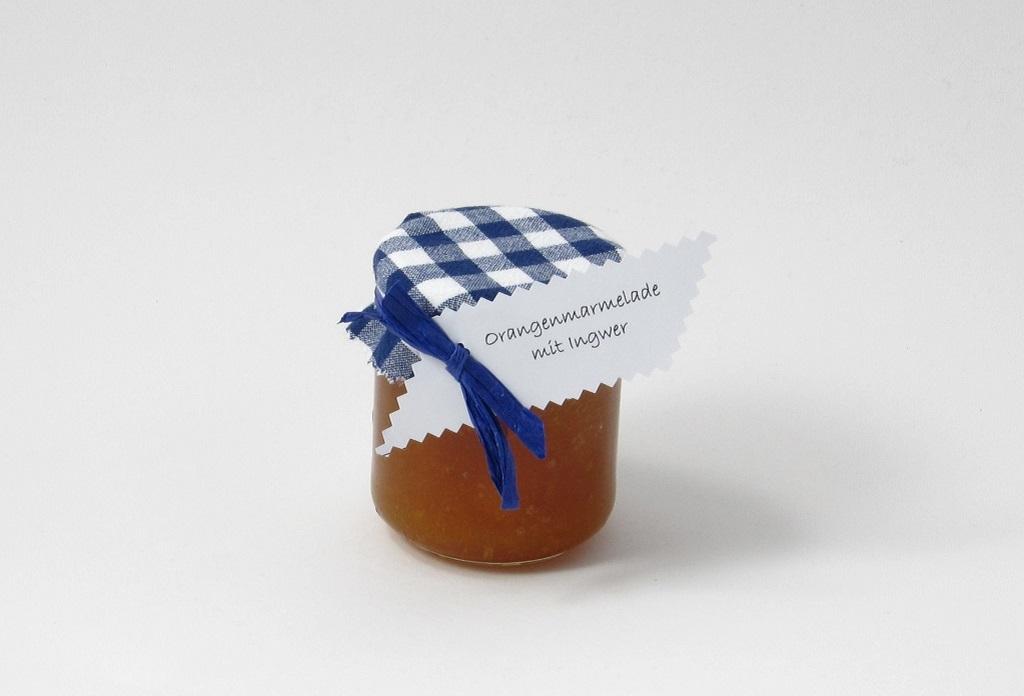 Orangenmarmelade mit Ingwer