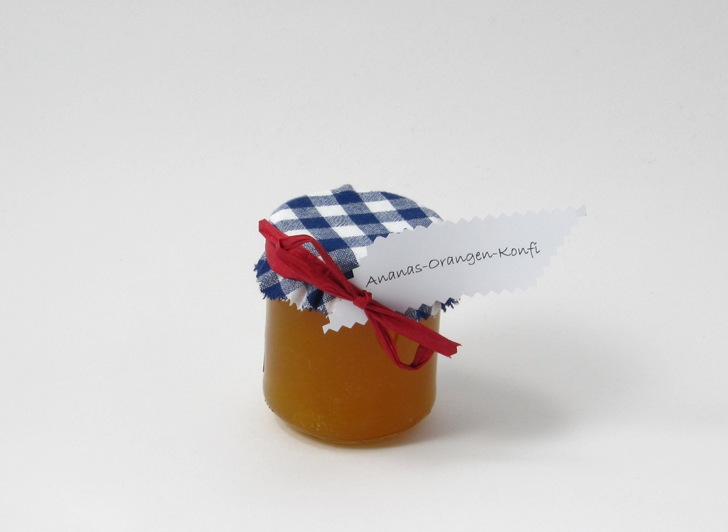 Ananas-Orangen-Konfitüre