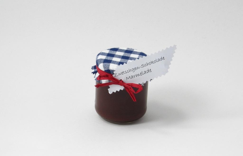 Zwetschgen-Schokolade-Marmelade