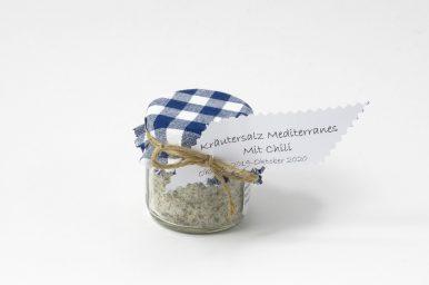 Kräutersalz mediterraneé mit Chili